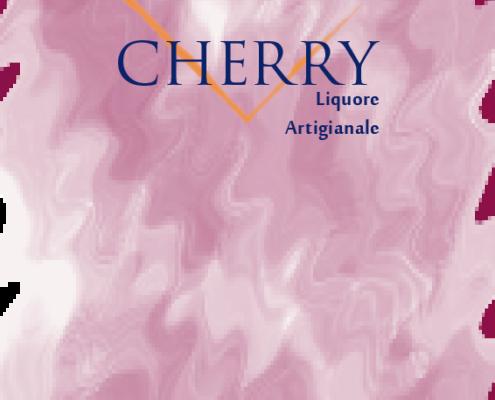 Etichetta Cherry artigianale