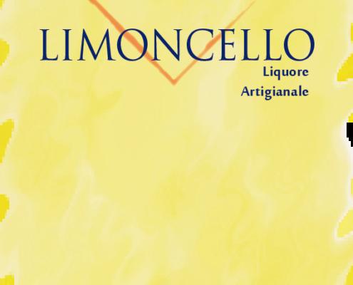 Etichetta Limoncello artigianale