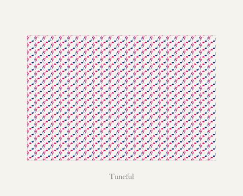 Texture per tema Tuneful di un libro fotografico