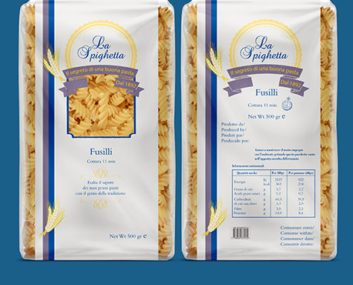 Packaging Pasta La Spighetta