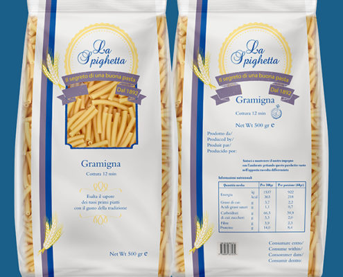 Packaging Pasta La Spighetta