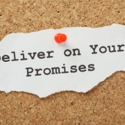 Mantieni le promesse