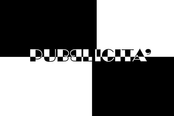 Pubblicità in bianco e nero
